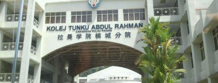 Tunku Abdul Rahman University College (TARUC) is one of Learning Centers,MY #5.