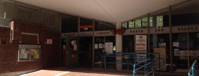 Boston Public Library - North End Branch is one of Nearby Neighborhoods: The North End.