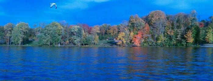 Geist Reservoir is one of Near home.