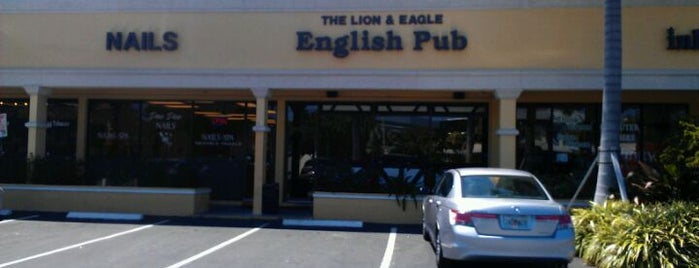 Lion & Eagle English Pub is one of Places to Drink.