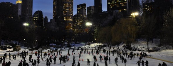 Wollman Rink is one of Top Ice Skating Rinks in NYC.