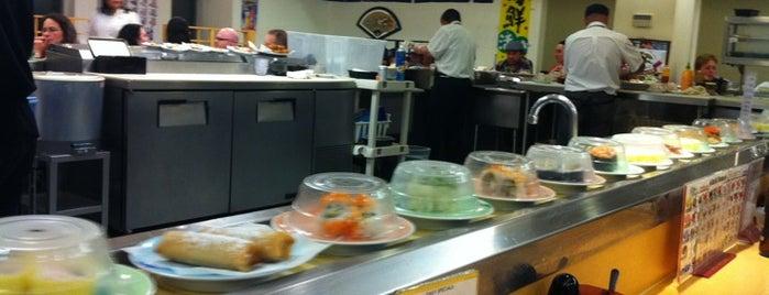 Marinepolis Sushi Land is one of Seattle Tour #VisitUs.