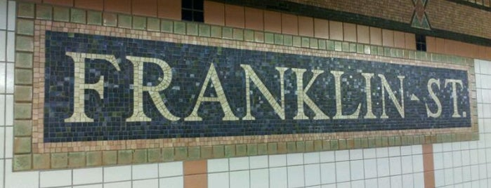 """MTA Subway - Franklin St (1) is one of """"Be Robin Hood #121212 Concert"""" @ New York!."""
