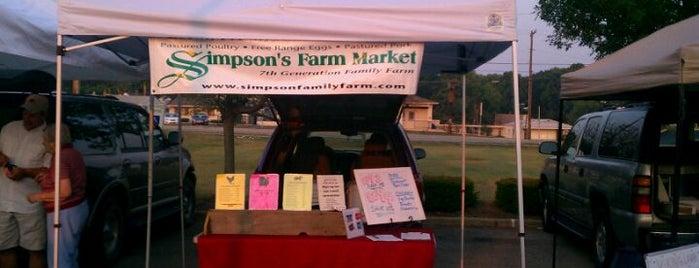 Greenwood Farmer's Market is one of Favorites.