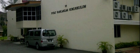 Pusat Rancangan Kokurikulum is one of Foursquare Venues That I Created.