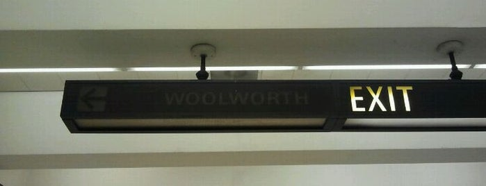 Woolworth Sign is one of Stacey and Me.