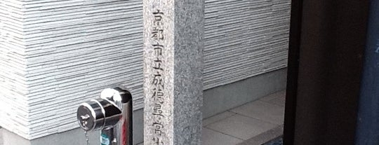 成徳尋常小学校跡 is one of 史跡・石碑・駒札/洛中南 - Historic relics in Central Kyoto 2.