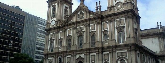 Igreja Matriz Nossa Senhora da Candelária is one of Rio de Janeiro's best places ever #4sqCities.