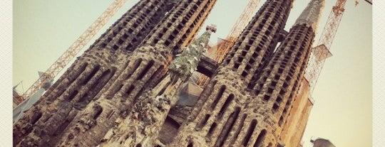 Sagrada Família is one of Barcelona.