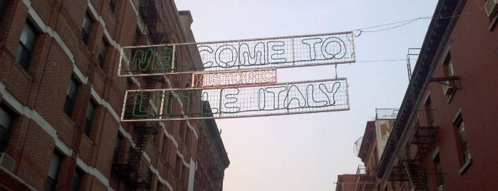 Little Italy is one of Visit to NY.