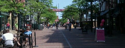Church Street Marketplace is one of Burlington, Vermont.
