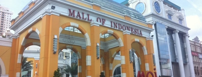 Mall of Indonesia is one of Malls in Jabodetabek.