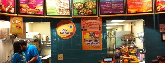 Tropical Smoothie Cafe is one of Favorite Food.