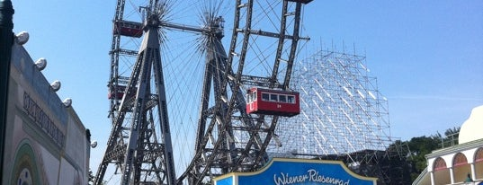 Wiener Riesenrad is one of Vienna, Austria - The heart of Europe - #4sqCities.