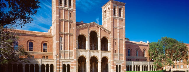 UCLA Royce Hall is one of life of learning.