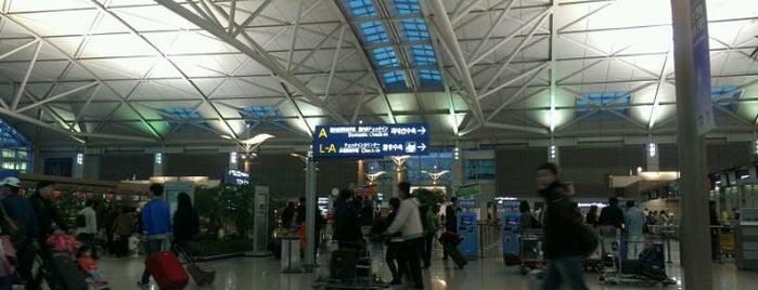 Incheon International Airport (ICN) is one of เที่ยว Soul, Korea.