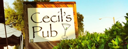 Cecil's Pub is one of Favorites.
