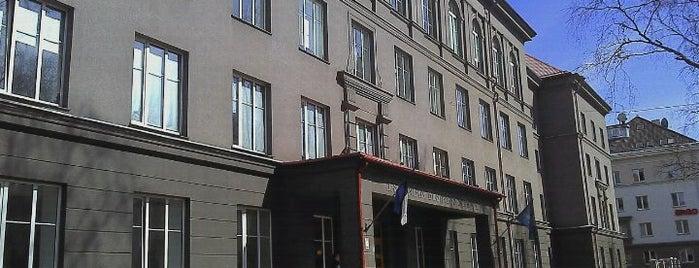 Estonian Business School is one of Tallinn.