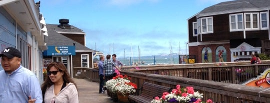 Pier 39 is one of San Francisco, my love..