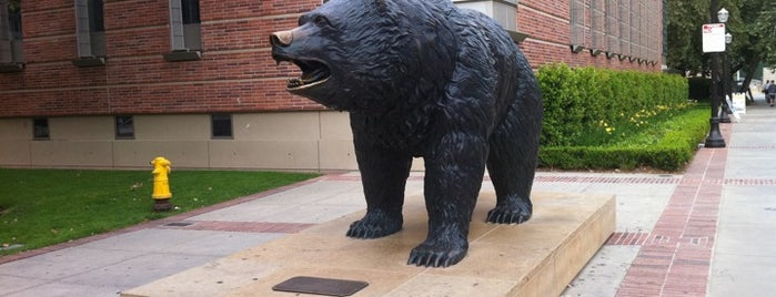 UCLA Bruin Statue is one of The 13 Best Sculpture Gardens in Los Angeles.