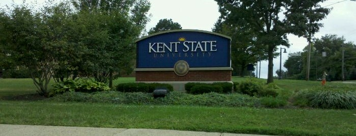Kent State University is one of College Love - Which will we visit Fall 2012.