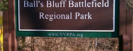 Ball's Bluff Battlefield Regional Park is one of Virginia.