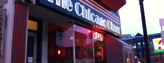 Chicago Diner is one of Vegetarian and Veggie Friendly.