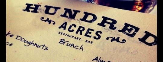 Hundred Acres is one of Planning for my trip to NYC.