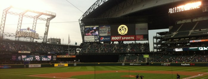 Safeco Field is one of Lost in Seattle.