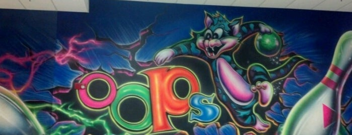 Oops Bowling Alley is one of Must-Do Pensacola.