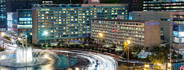 Hotel Indonesia Kempinski Jakarta is one of i've been visited.