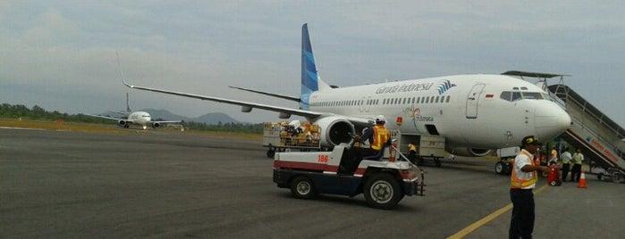 Depati Amir Airport (PGK) is one of Indonesia's Airport - 1st List..