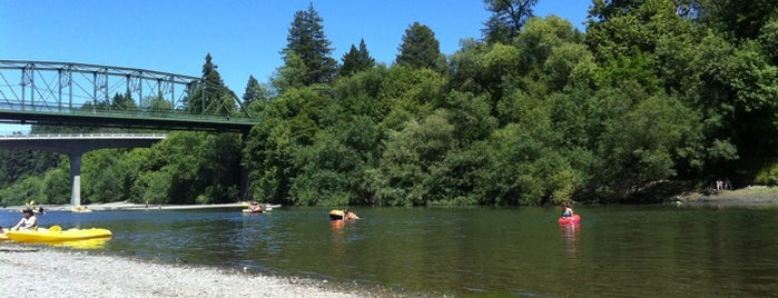 Russian River is one of Beyond the Peninsula.