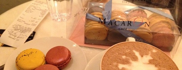 MacarOn Café is one of Grab a Great Iced Coffee.