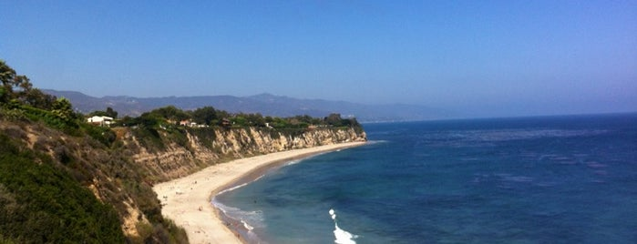 Point Dume State Beach is one of Favorite places.