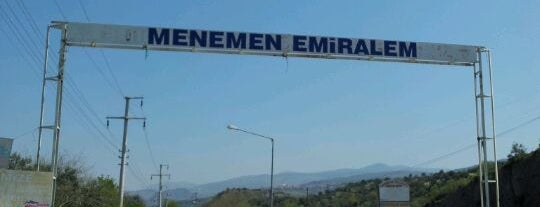 Emiralem is one of İzmir.