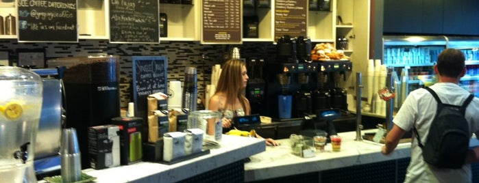 Gregory's Coffee is one of NY Espresso.