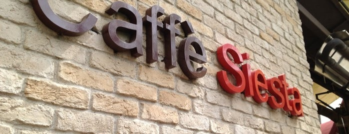 Caffé Siesta is one of Kafeler.