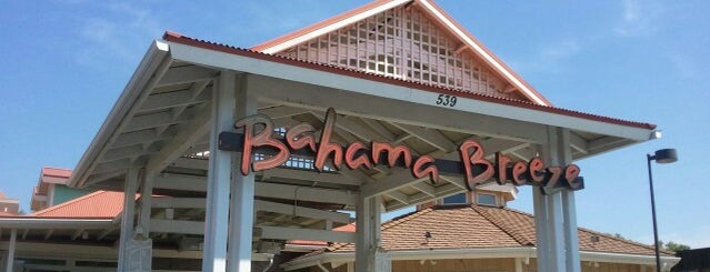 Bahama Breeze is one of Fun Go-to-Spots.