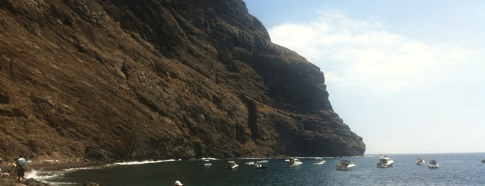 Playa de Masca is one of Islas Canarias: Tenerife.