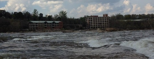 The Rocks At Hollywood Rapids is one of RVA parks.