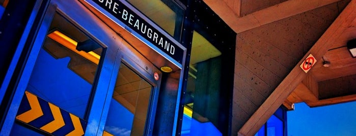 STM Station Honoré-Beaugrand is one of Montreal Metro.
