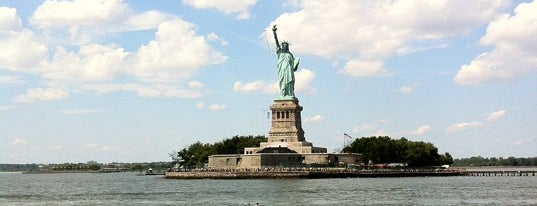 Statue of Liberty Ferry is one of NY.