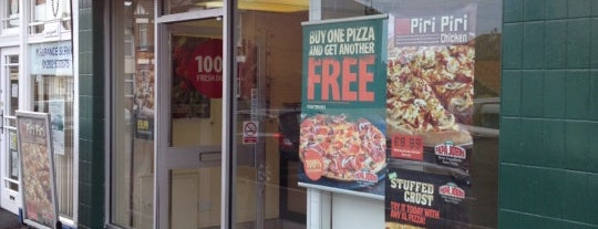 Papa John's is one of The Ultimate Student Guide to Bournemouth.