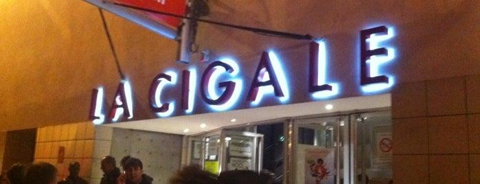 La Cigale is one of Paris.