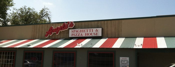 Angelo's Spaghetti and Pizza House is one of favs.
