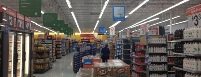 Walmart Supercenter is one of my new longer done list.