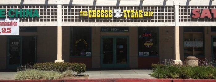 Cheese Steak Shop is one of Cheese Steak Spots in the South Bay.