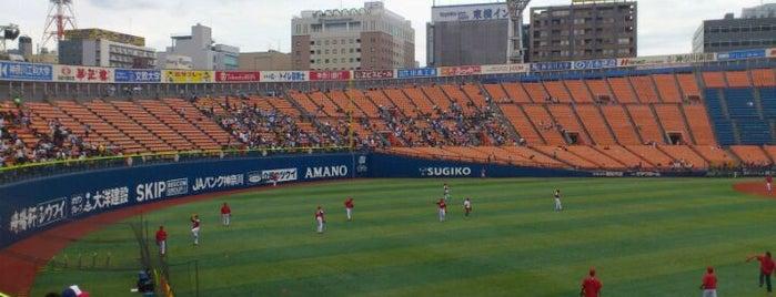 Yokohama Stadium is one of Best Stadiums.
