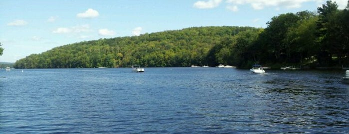 Lake Wallenpaupack is one of Motorcycle Destinations NJ PA NY.